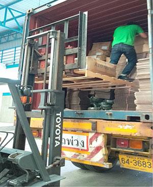 shipping cart
